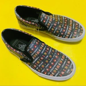 Vans x Nintendo Legend Of Zelda Women Size 8 slip